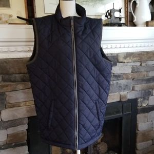 Weather Wear Navy Quilted Vest Xxl new with tags